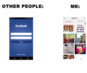 facebook and weheartit image