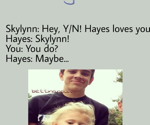 imagine and hayes image