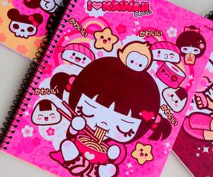 kawaii and notebook image