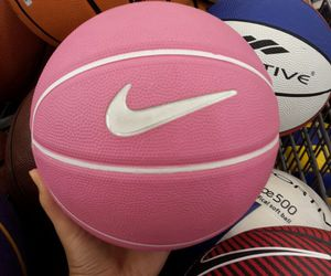 Basketball, cute, and pink image