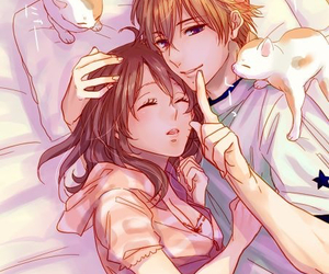 anime, brothers conflict, and couple image