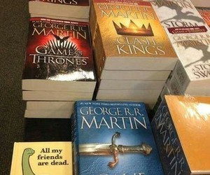 game of thrones, funny, and book image