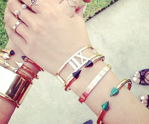 fashion, pretty, and bangle image