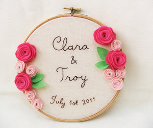 embroidery, flowers, and gifts image