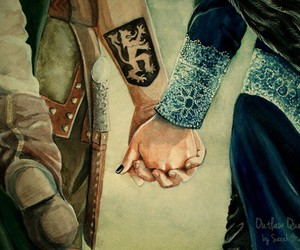 once upon a time, robin hood, and regina image