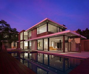 house pink image