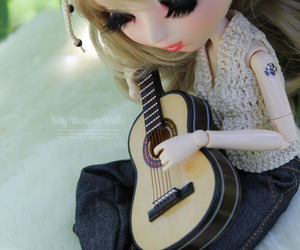 custom, doll, and guitar image