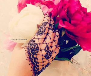 henna, mehndi, and mehendi image