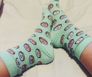 fashion, donuts, and girl image