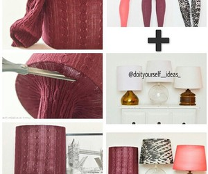 diy, lamp, and decoration image