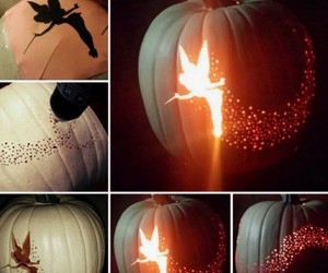 Halloween, pumpkin, and fairy image