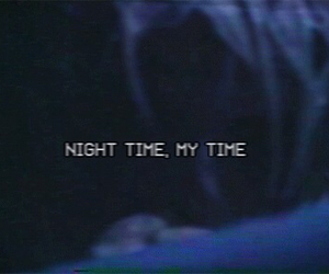 beauty, dark blue, and my time image