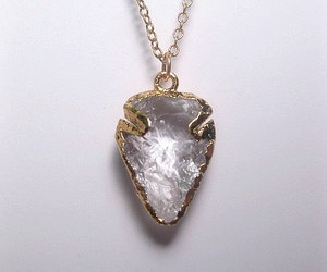 crystal, jewelry, and necklace image