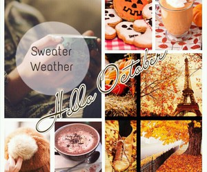 autum, fall, and october image