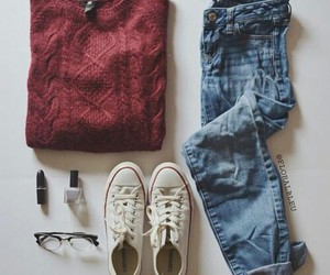 baggy, casual, and jeans image