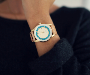 outfit, sweet, and watch image