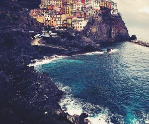 italy, ocean, and sea image