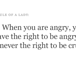 angry, lady, and quote image