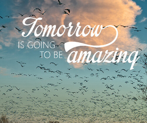 amazing, quotes, and tomorrow image