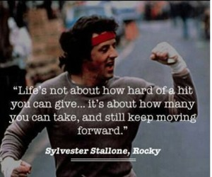 rocky, quotes, and life image