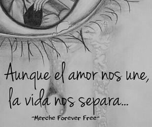 amor, frases en español, and amor a distancia image