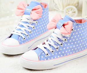adorable, bows, and shoes image