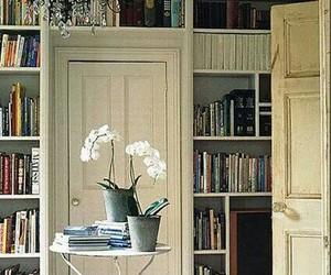 books, nice, and room image