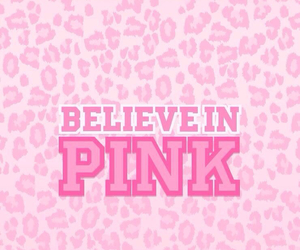pink, believe, and wallpaper image