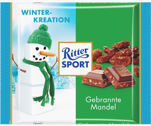 chocolate, sweet, and rittersport image
