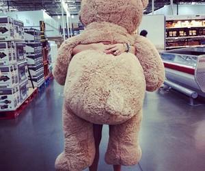 bear, teddy, and big image