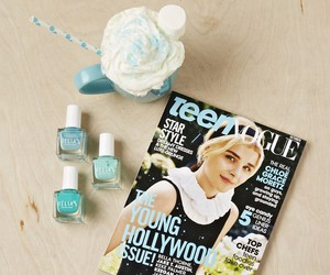 Teen Vogue and delia's image