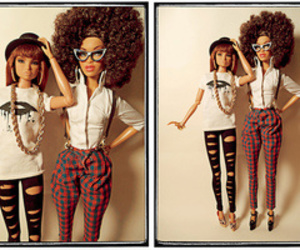 barbie, barbies, and fashion image