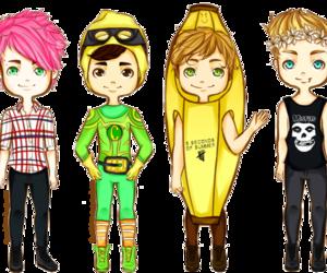 ashton, boys, and LUke image