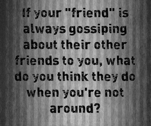 fake, friend, and quote image