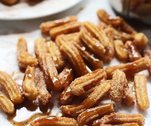 churros, food, and dessert image
