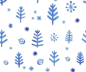 pattern, vector, and snowflake image