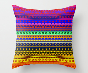 cushion, ethnic, and hippie image
