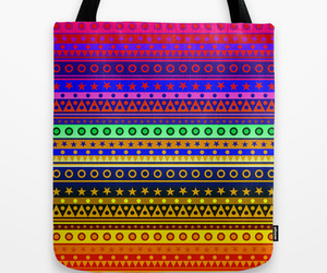 bag, Stripy, and ethnic image
