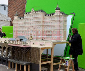 wes anderson and grand hotel budapest image