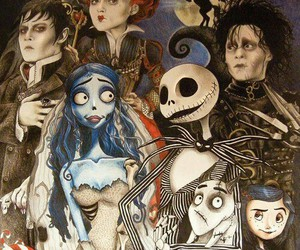 tim burton, coraline, and corpse bride image