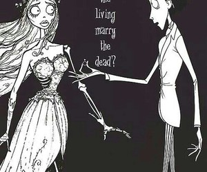 love, corpse bride, and dead image