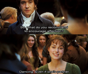 pride and prejudice, mr darcy, and quote image