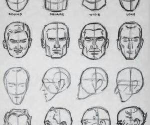 anatomy, art, and how to draw a face image