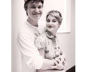 ansel elgort, Shailene Woodley, and augustus waters image