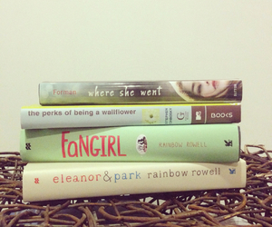 book, fangirl, and where she went image