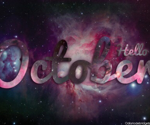 october, hello october, and hello image