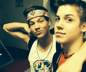 taylor caniff, magcon, and matthew espinosa image