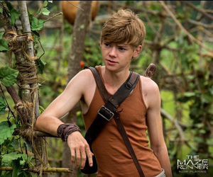 newt, wow, and thomas sangster image