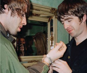 band, oasis, and liam gallagher image