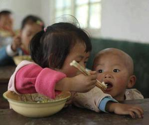 adorable, chinese, and eat image